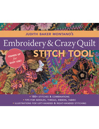 Embroidery & Crazy Quilt Stitch Tool